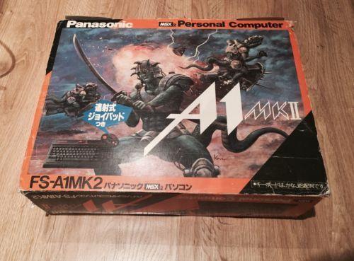 Panasonic-A1MK2-RARE-COMPLET-MSX
