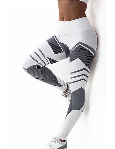 1f964461c9ac4d Women's Cross - spliced / Sporty Legging - Striped, Print Mid Waist / Sporty  Look / Skinny. #pants #leggings #women #beauty #buy #sale #shop #style ...