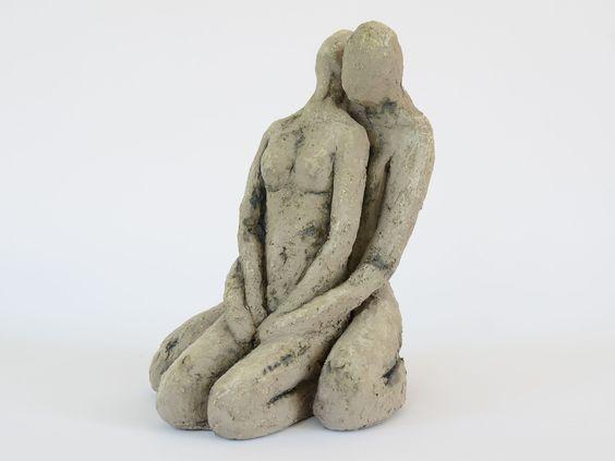 Mensch Mensch - CB Keramik Design - Moderne Kunst in Ton - 66583 Spiesen-Elversberg