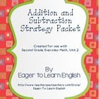 This packet includes addition and subtraction quizzes that focus on the following strategies:  *Adding and subtracting zero *Adding and subtracting...