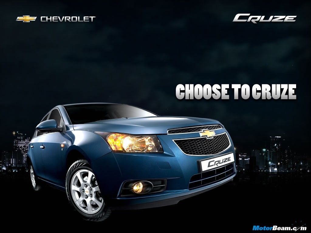 Get driving license and be a proud owner of Chevrolet Cruze Blue