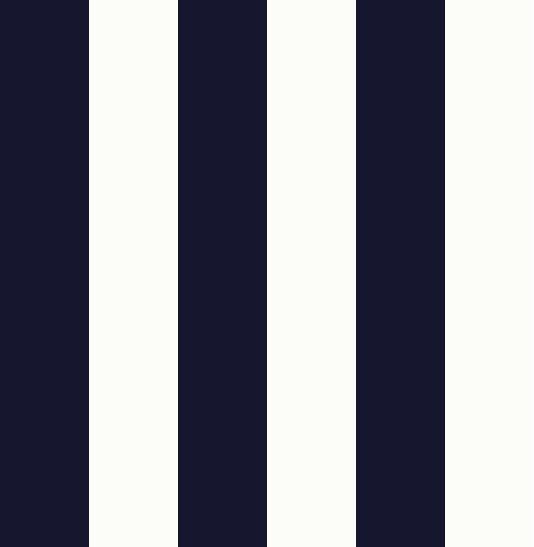 Nantucket stripe wallpaper a smart dark navy blue and off for Navy blue wallpaper for walls