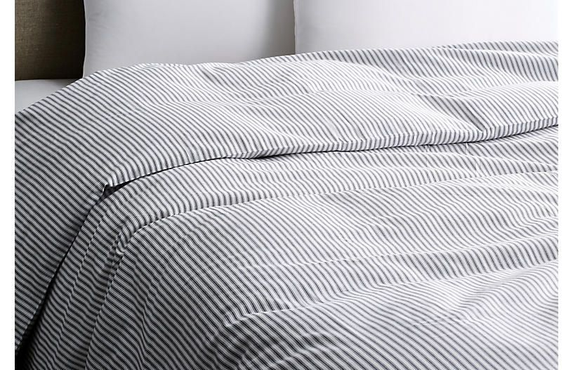 Black Tick Duvet Cover White Matteo King Products