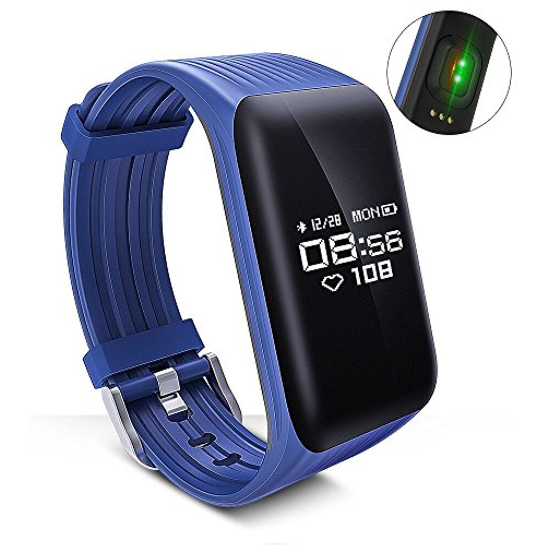 Longet Fitness Tracker Smart Bracelet Sustained Heart Rate