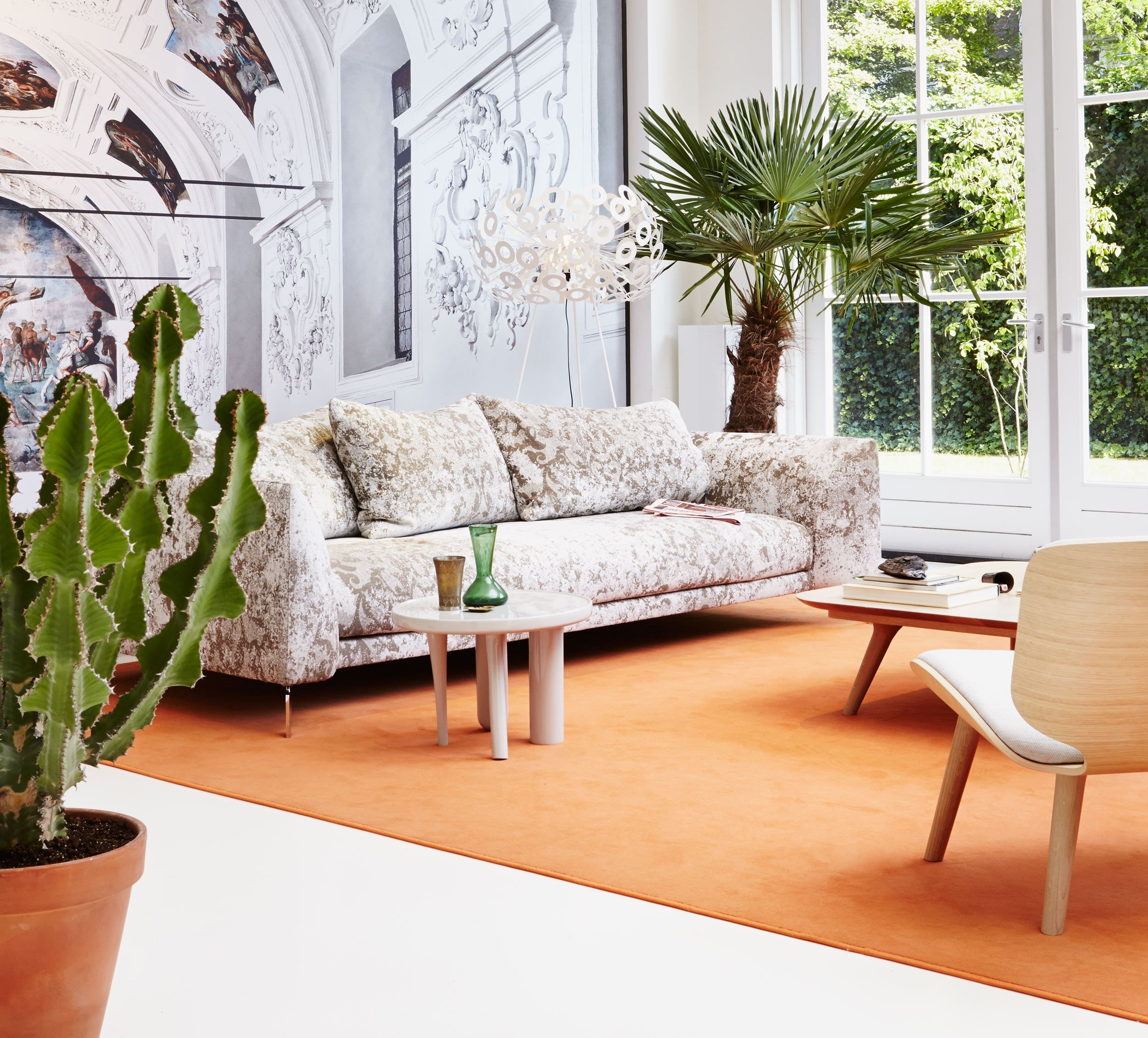 Canvas Sofa Steel Design
