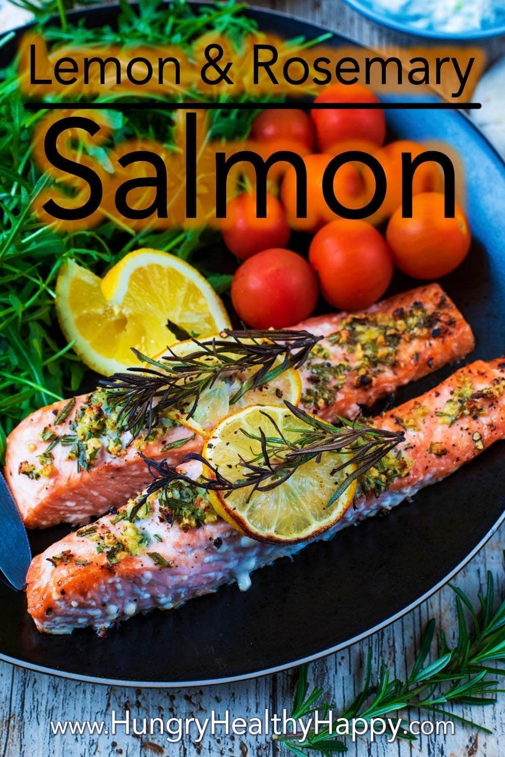 Lemon and Rosemary Salmon images