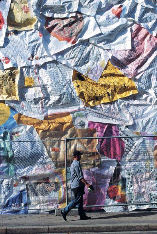 ปักพินโดย Ann Vollum ใน Street Art