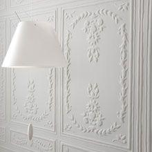 moulures et luminaire blanc blanc white pinterest luminaires papier peint et peindre. Black Bedroom Furniture Sets. Home Design Ideas