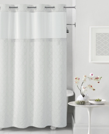 Hookless Mosaic 3 In 1 Shower Curtain Bedding Hookless Shower