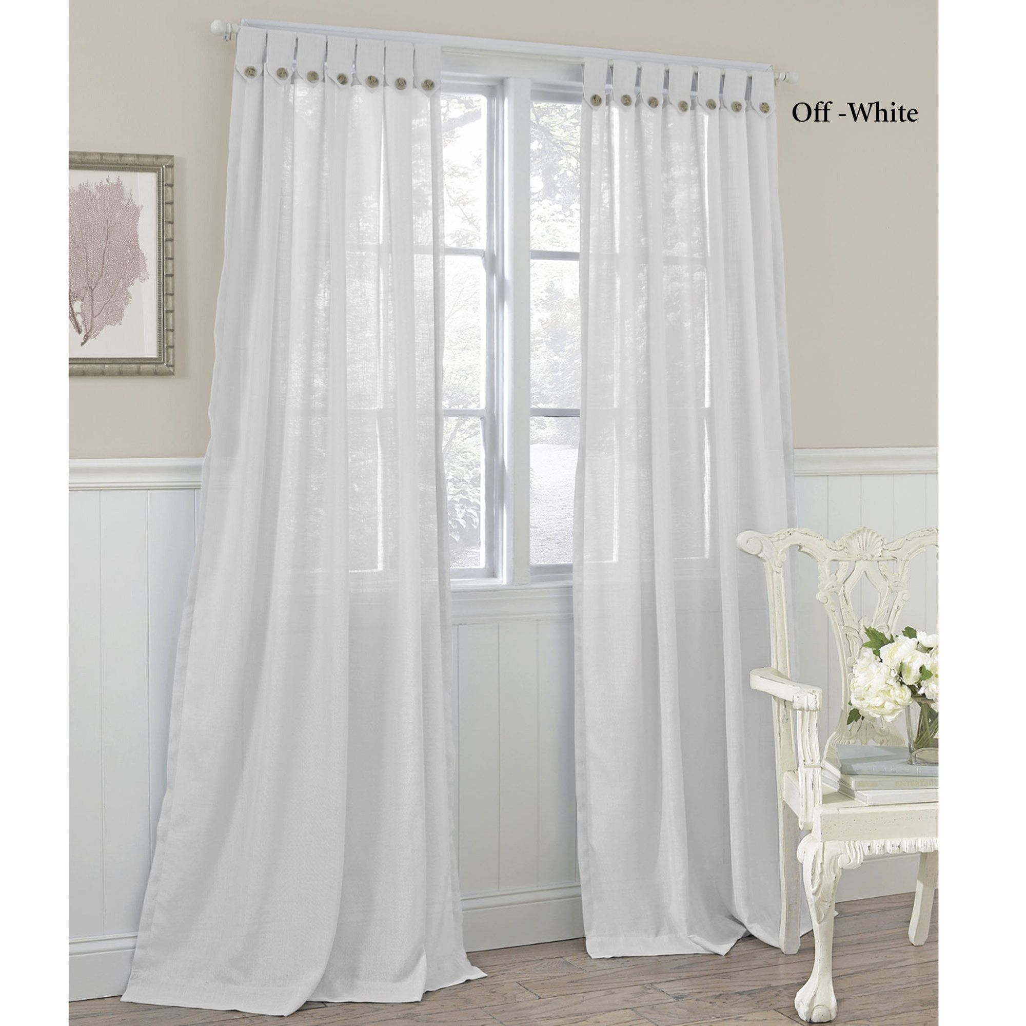 Button Tab Top Curtains   Google Search