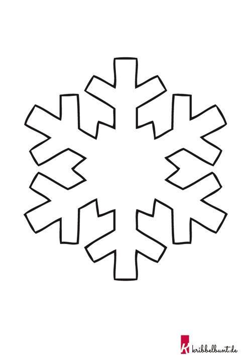 Schneeflocken Vorlage Zum Ausdrucken Pdf Kribbelbunt Schneeflocken Basteln Vorlage Schneeflocke Vorlage Schneeflocken Basteln