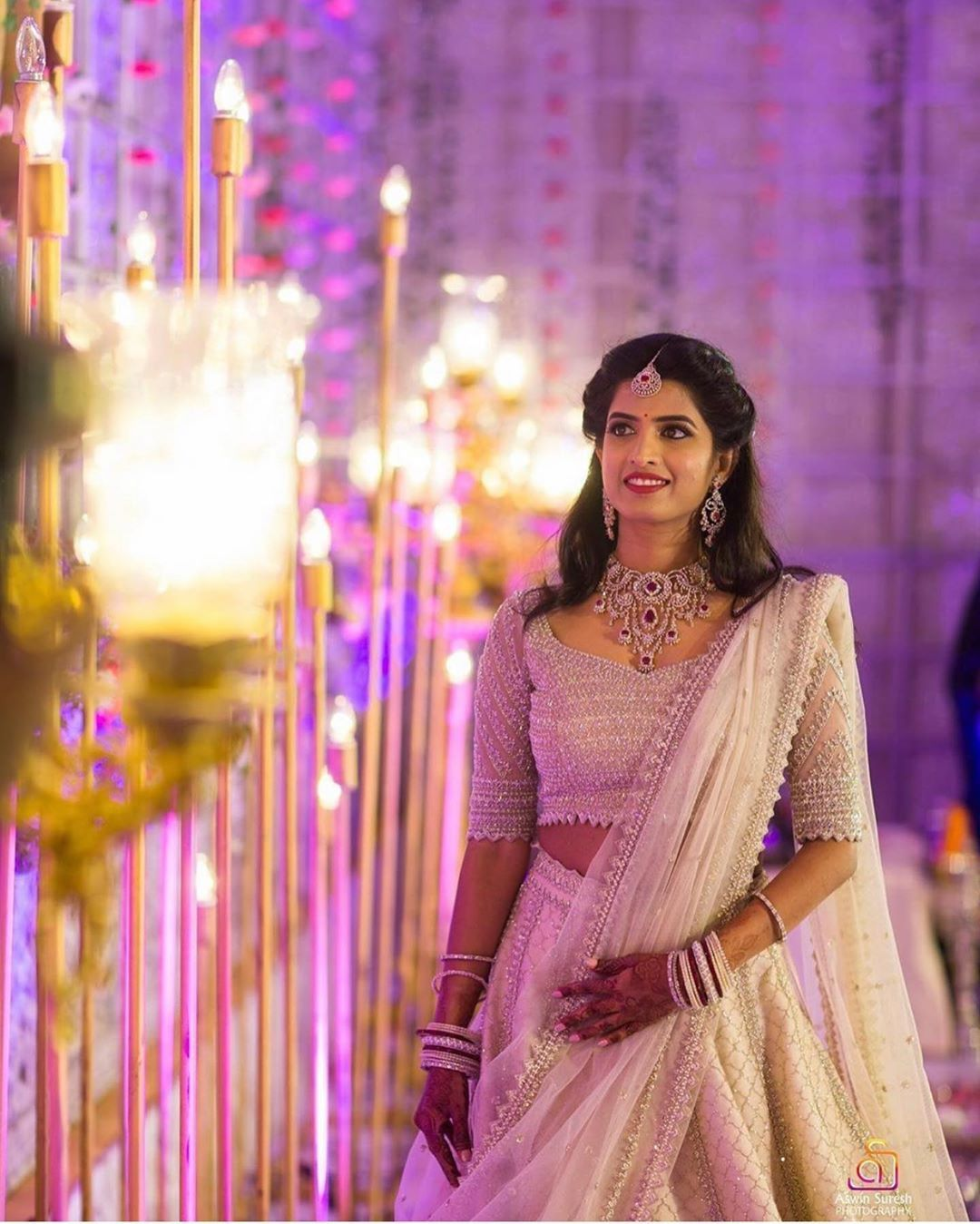 Hyderabad Bridal Inspiration On Instagram Gorgeous Bride Photo By Aswin Suresh Photography Bridesofh Desi Wedding Dresses Indian Wedding Outfits Bride
