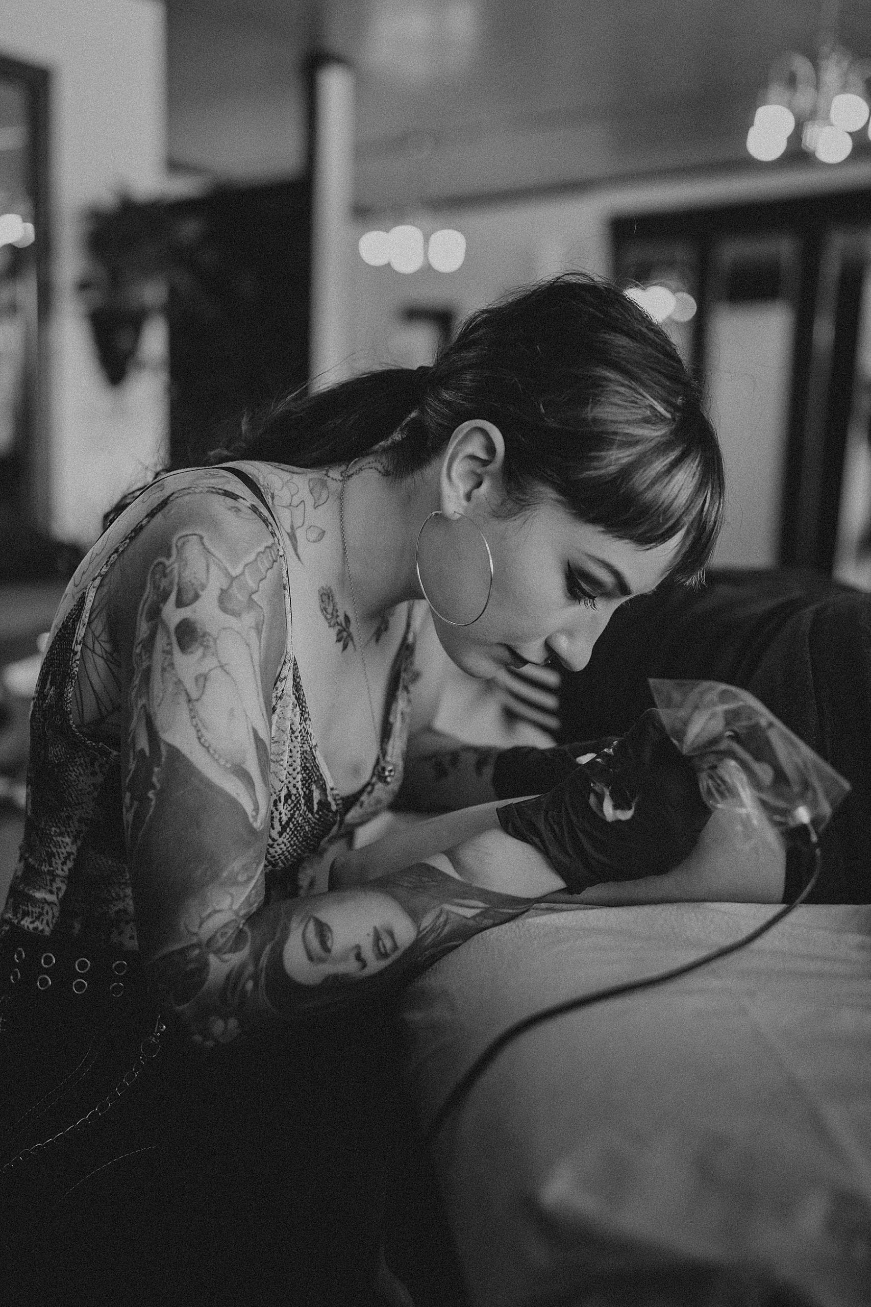 Salt lake city tattoo artist tressa wixom photography in