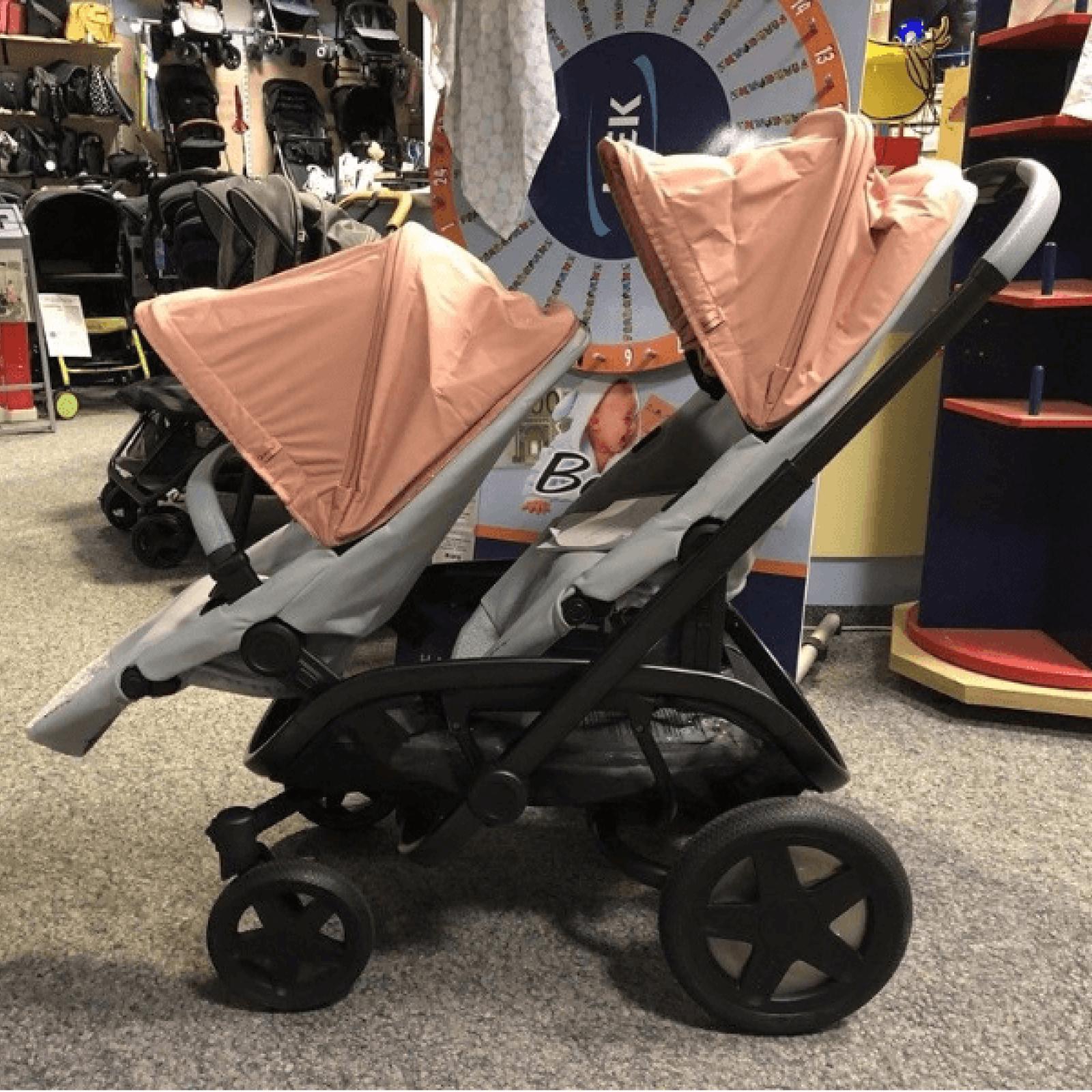 Quinny HUBB Kinderwagen Geschwisterwagen Stroller