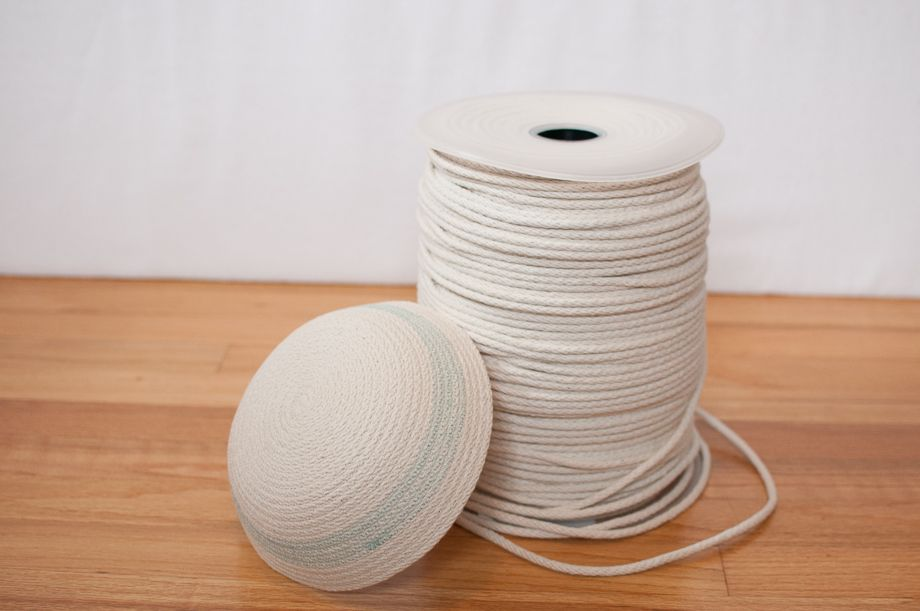 Cotton Clothesline Rope Rope Bowl From 100% American Made Cotton Braid  Crocheted Baskets