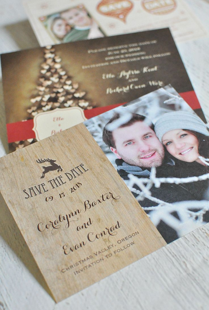 Engaged? Combine your Christmas Card & Save the Date this holiday ...