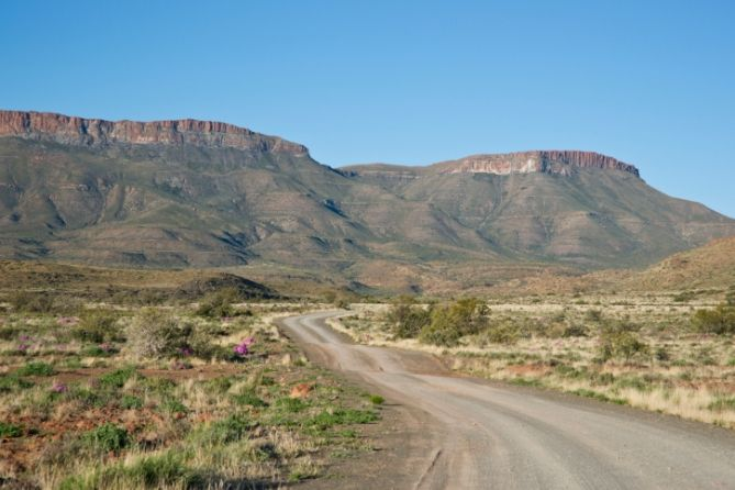 Karoo Nationalpark in Südafrika