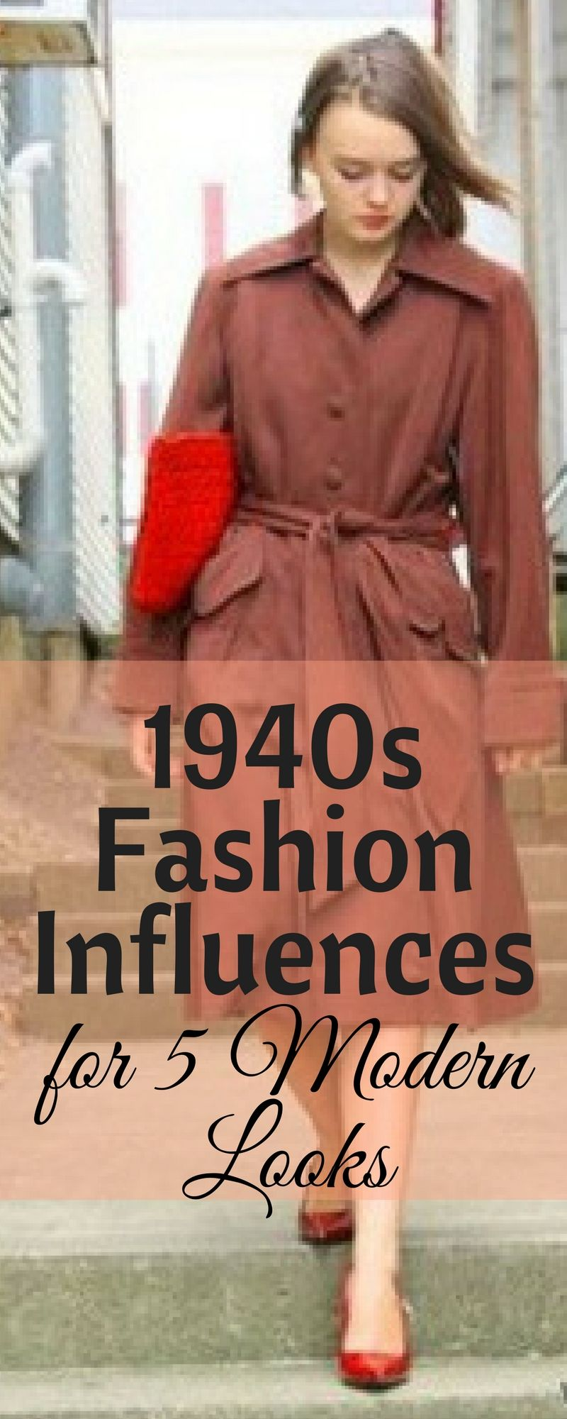 It s easy to see the 1940s fashion influences when you know that those  trends are being reproduced in new fashion today. Check out vintage  inspired clothing ... 97f2585c993f