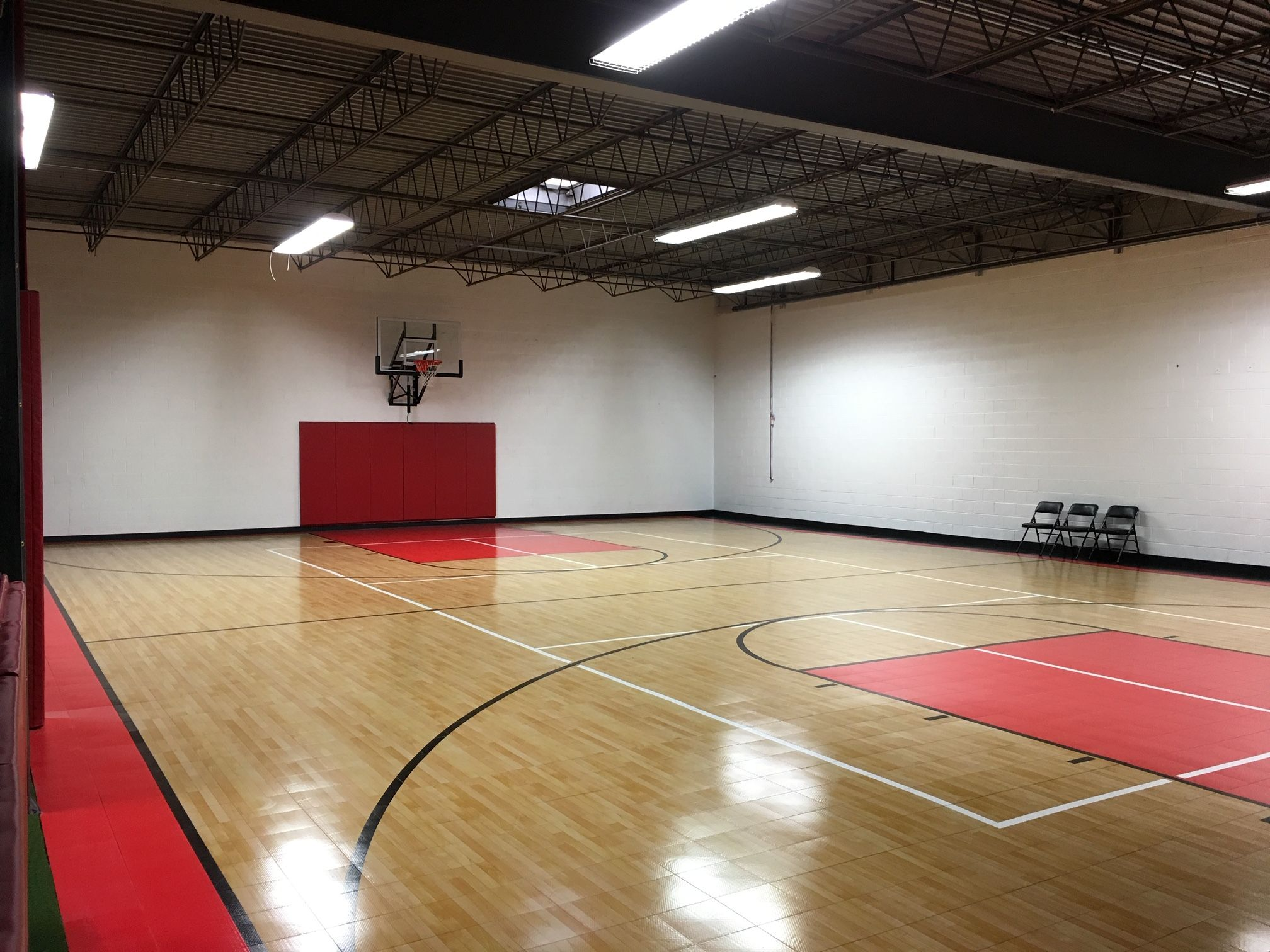 Indoor Multi Sport Home Gym By Sport Court Midwest Basketball Room Sport Court Sports