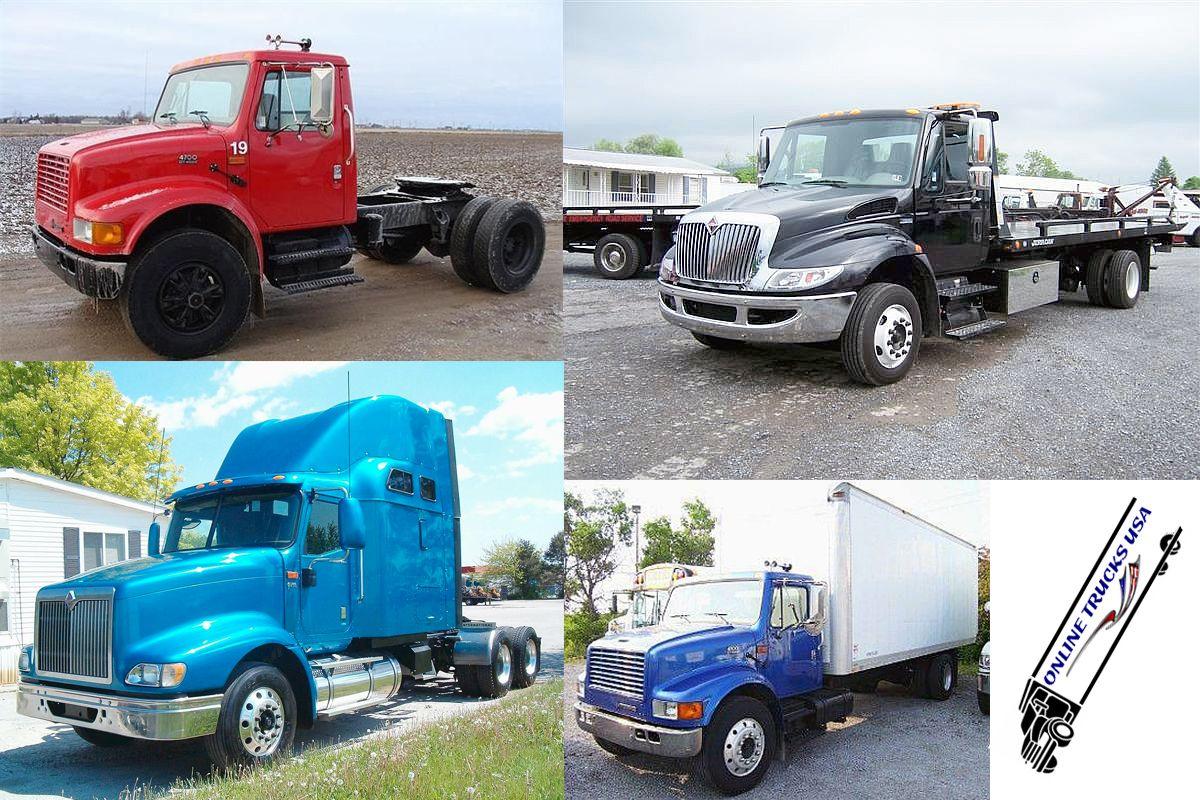 Discover Latest Used International Trucks For Sale By Our Honest International Truck Dealers Across Th International Trucks For Sale International Truck Trucks