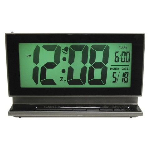 Multifunction Alarm Clock Gray (With images) Alarm