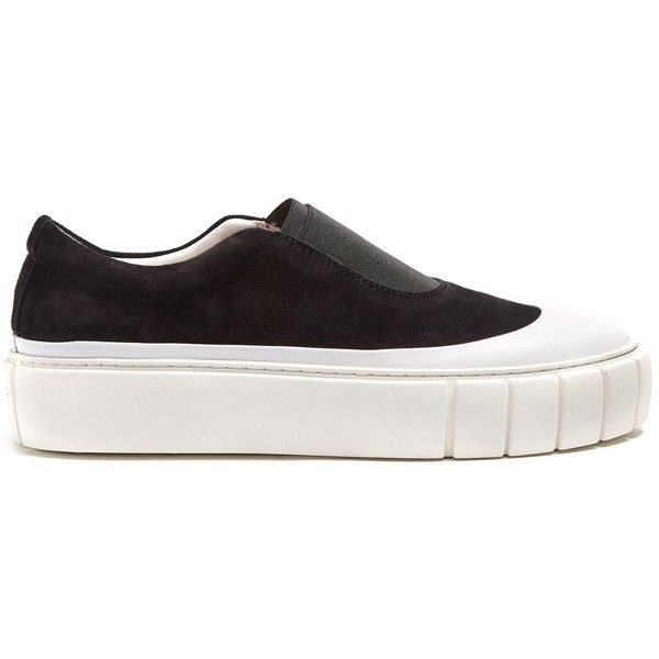 Basal Galoshe Meta slip-on suede trainers Primury MmuWud