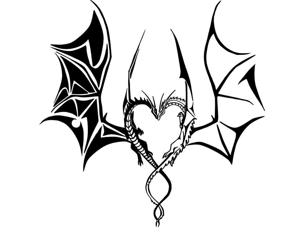 Line Art Dragon : Resultado de imagem para couple dragon dragons