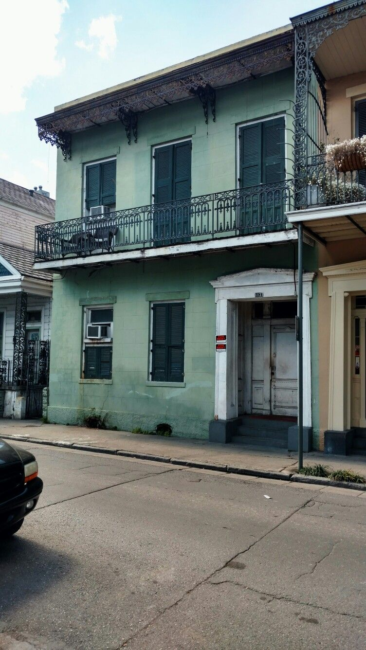 Charming condos of the French Quarter
