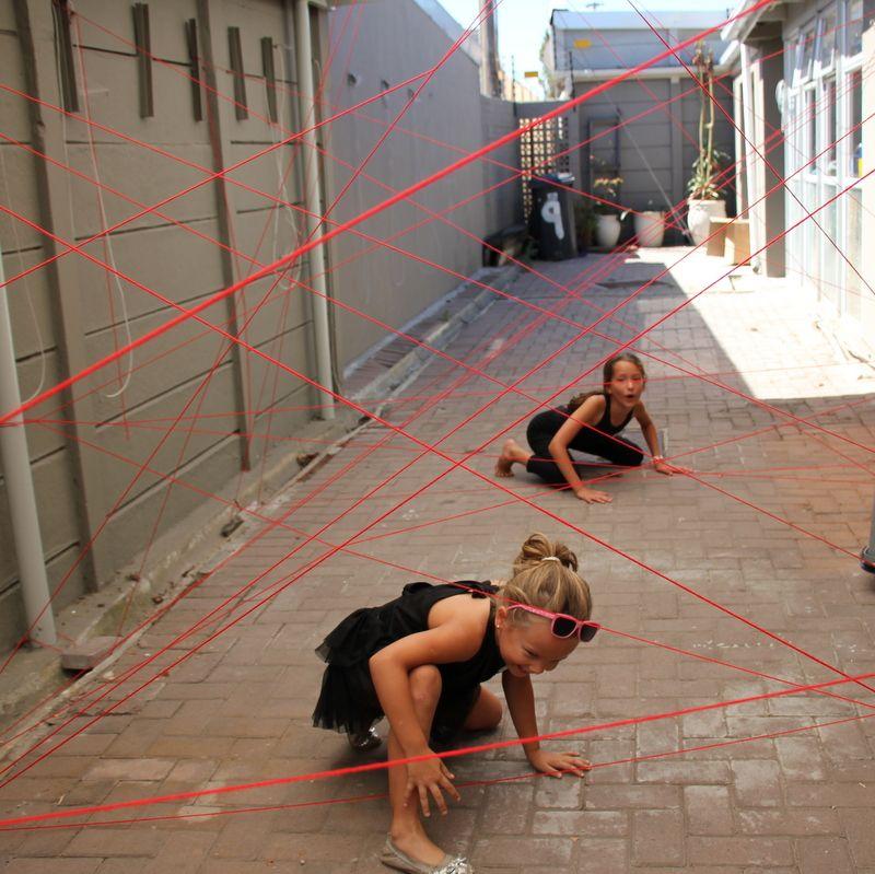 Spy Party - laser beams activity