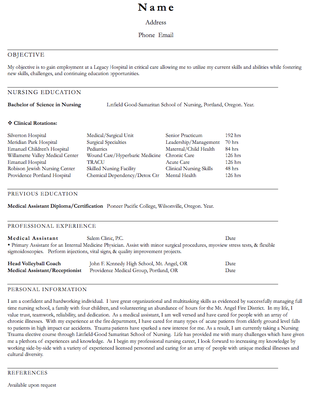 Volleyball Coach Resume Sample  HttpExampleresumecvOrg