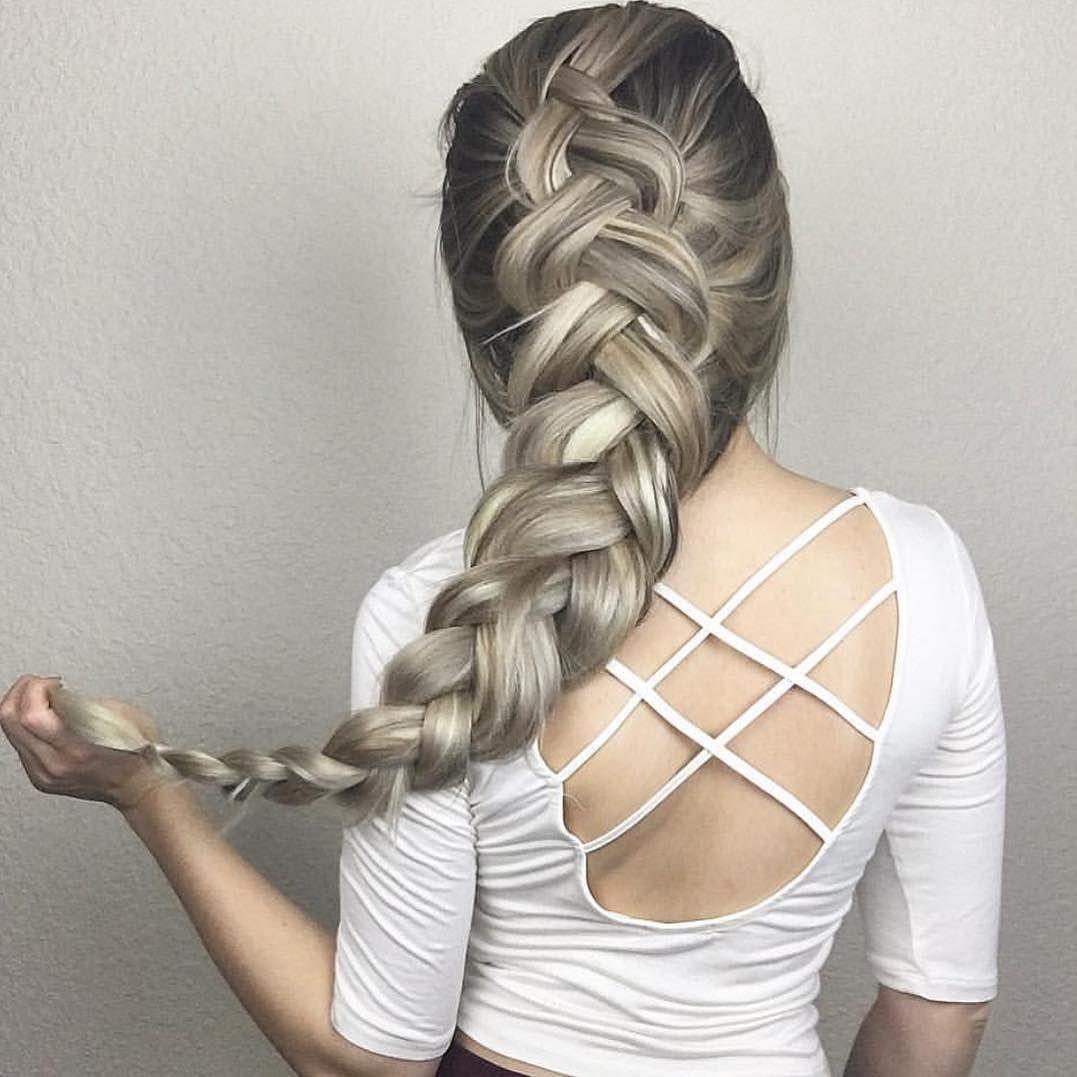 Nice 30 Cool Dutch Braid Ideas -- Versatile And Exotic