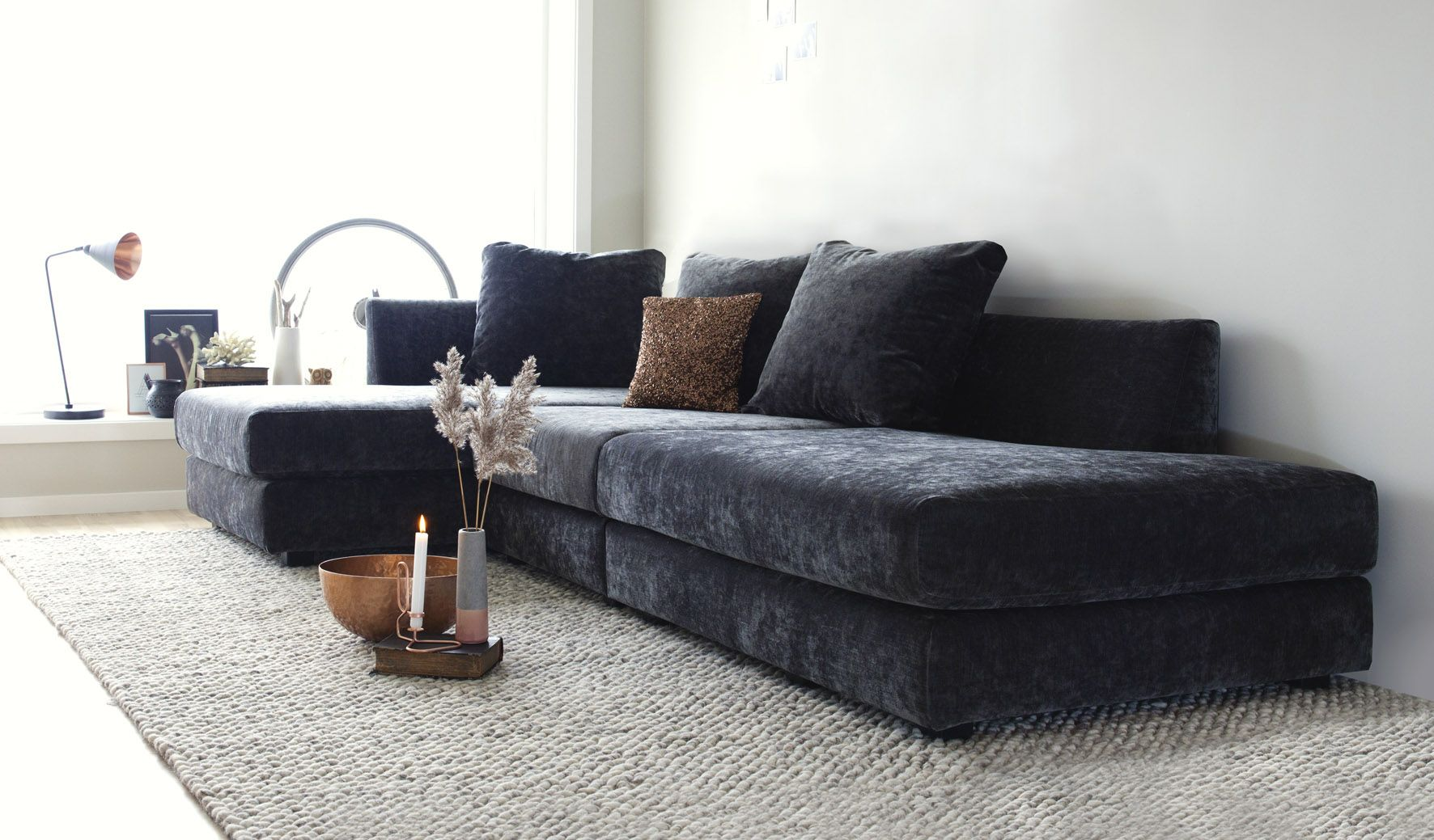hvile modulsofa ygg lyng pinterest. Black Bedroom Furniture Sets. Home Design Ideas