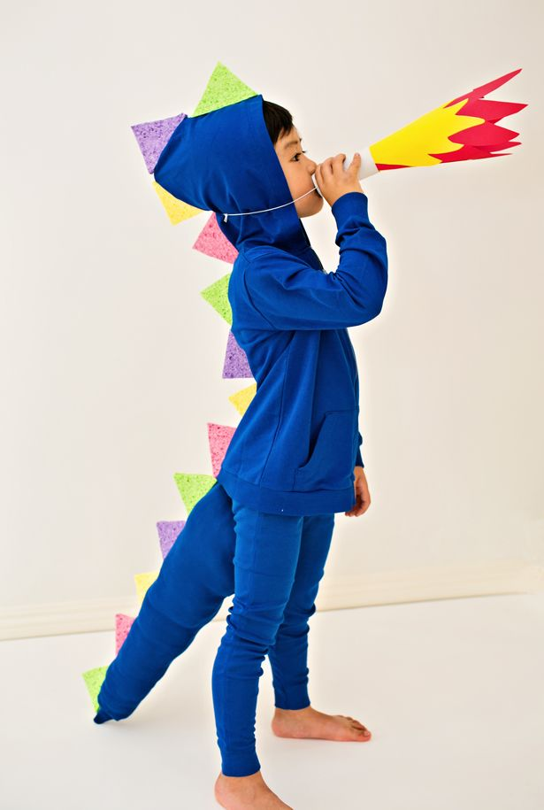 hello Wonderful - 10 PLAYFUL NO-SEW HALLOWEEN COSTUMES FOR KIDS : halloween costumes dragon  - Germanpascual.Com