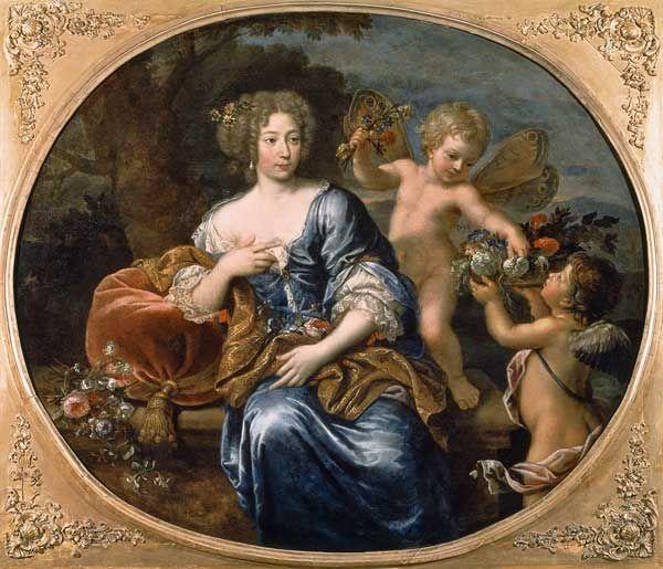 Presumed to be Madame de Montespan by Pierre Mignard Madame de - what is presumed