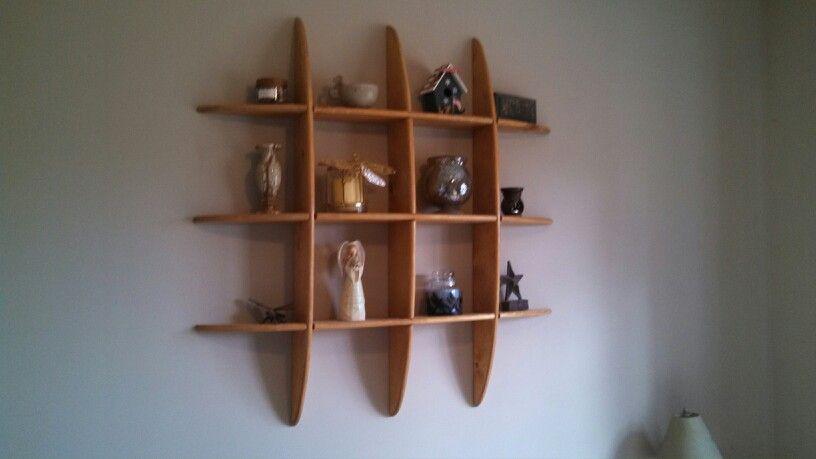 Curved wall shelf Curved walls, Shelves, Floating shelves