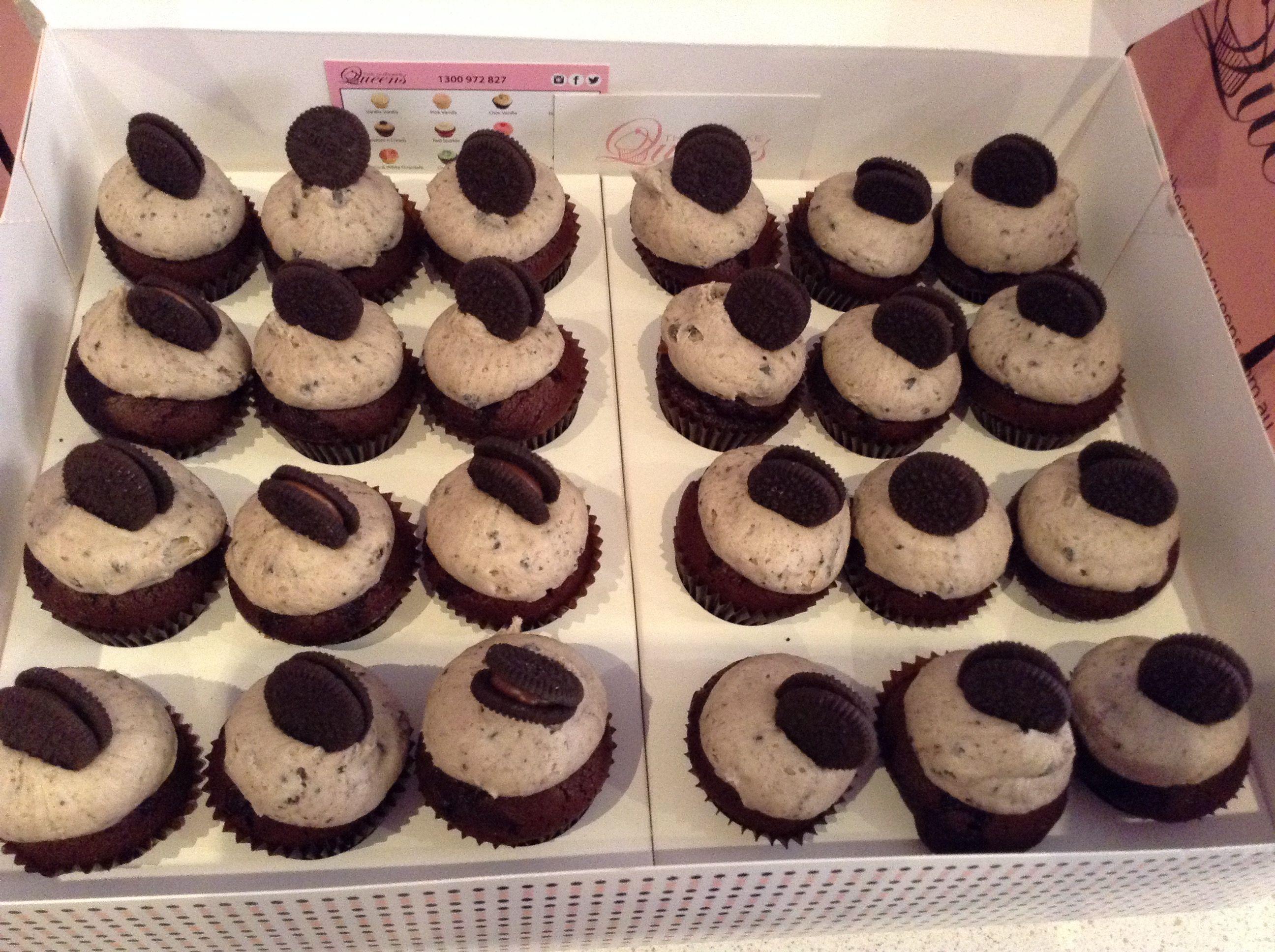 Cookies n cream mini cupcakes cookies n cream cookies