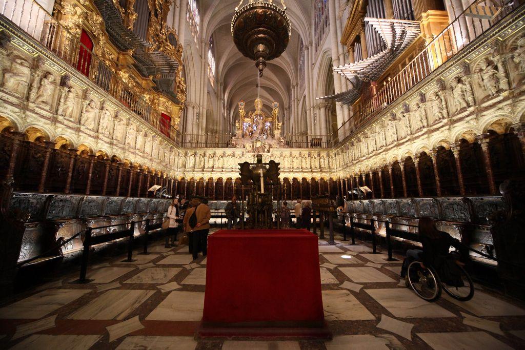 Tres Culturas El Transcoro De La Catedral De Toledo Catedral Toledo Renacimiento Español
