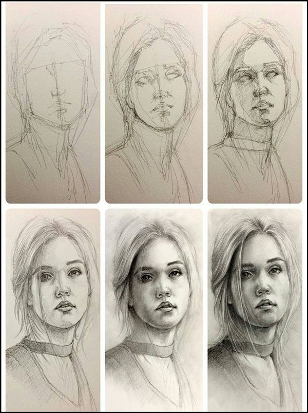 10 Essential Sketching Tips For Beginners Portrait Drawing Face Drawing Sketching Tips