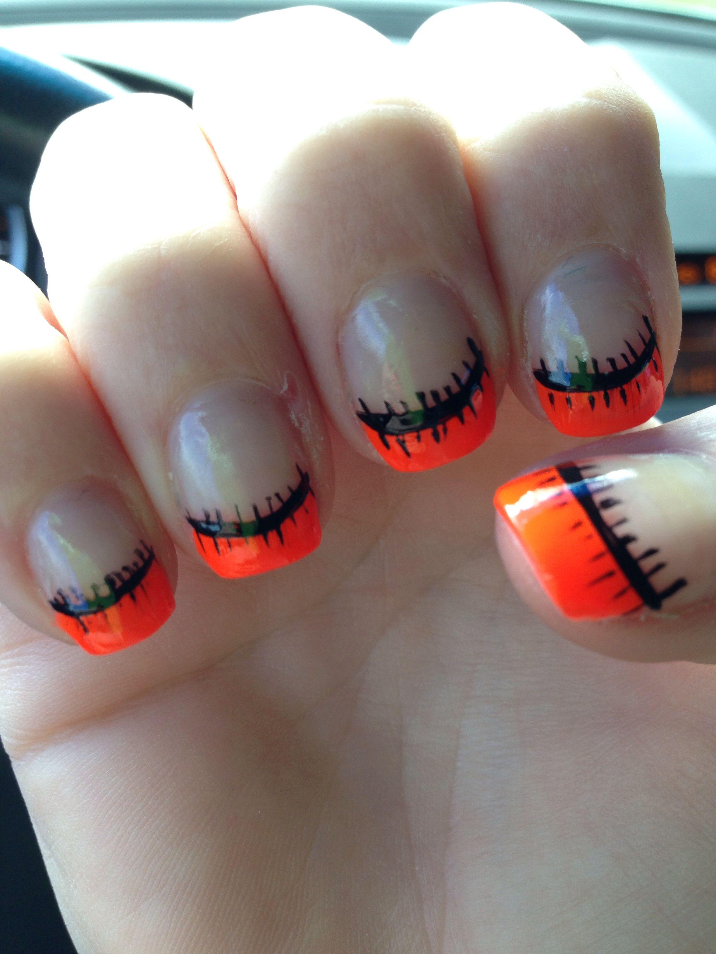 Halloween nails | Halloween nails easy, Halloween nails ...