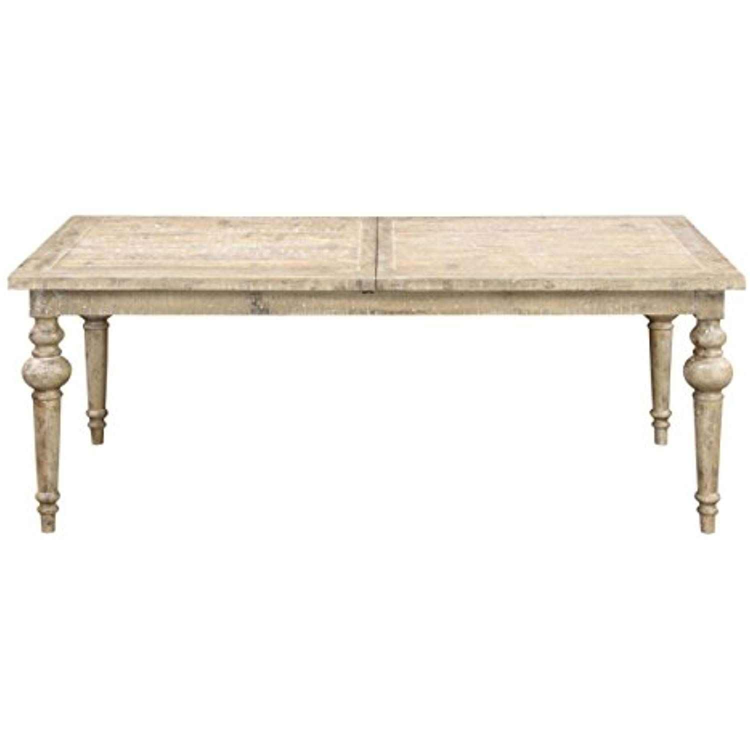 Emerald Home Interlude Sandstone Gray Dining Table With Self