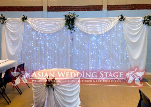 Building Wedding Backdrop Frames