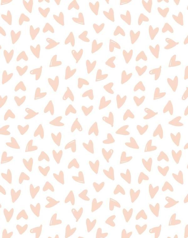 Hearts By Sugar Paper Pink On White In 2020 Pastel Pink Aesthetic Aesthetic Pastel Wallpaper Pastel Aesthetic