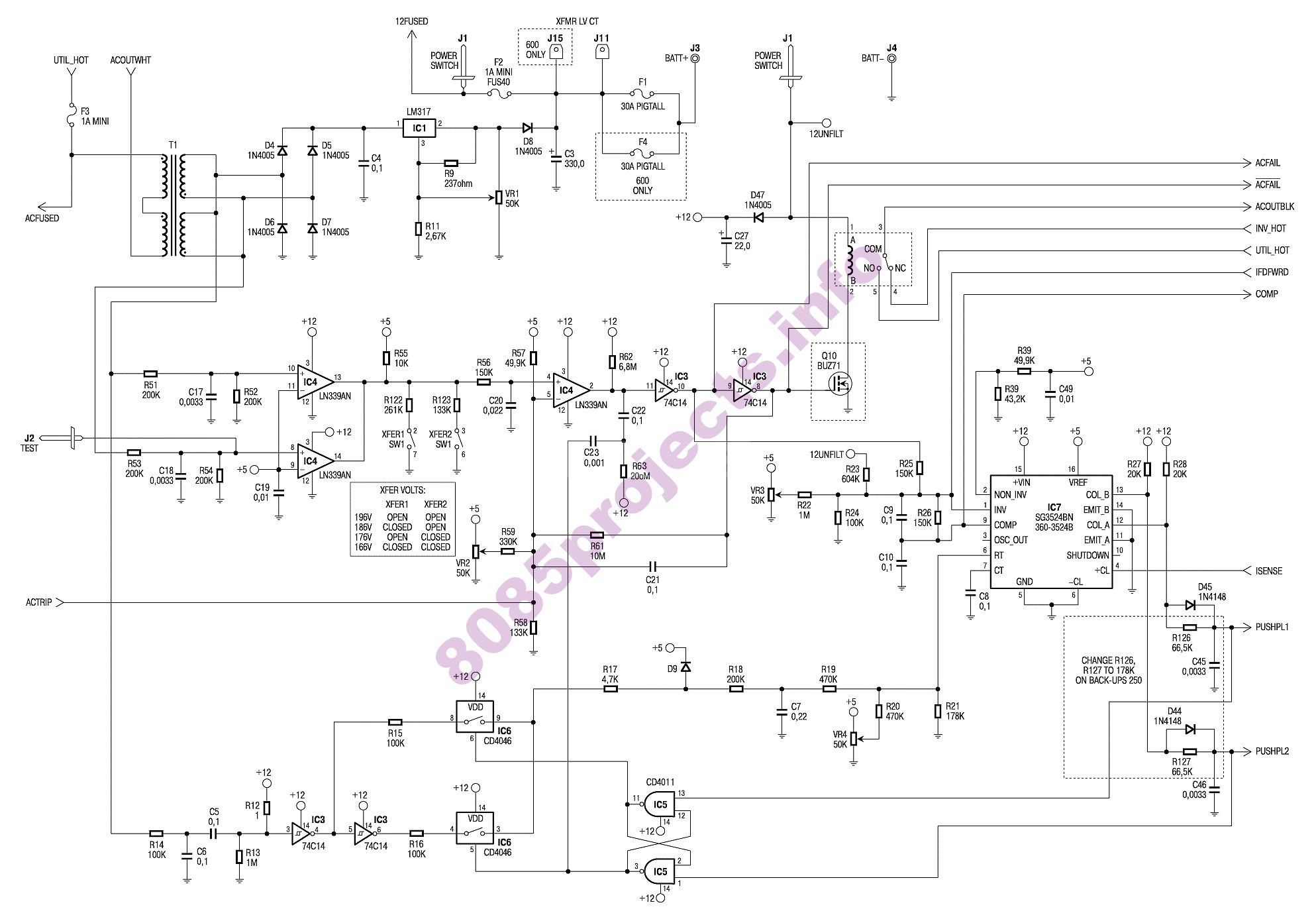 Apc Wiring Diagram Schematic
