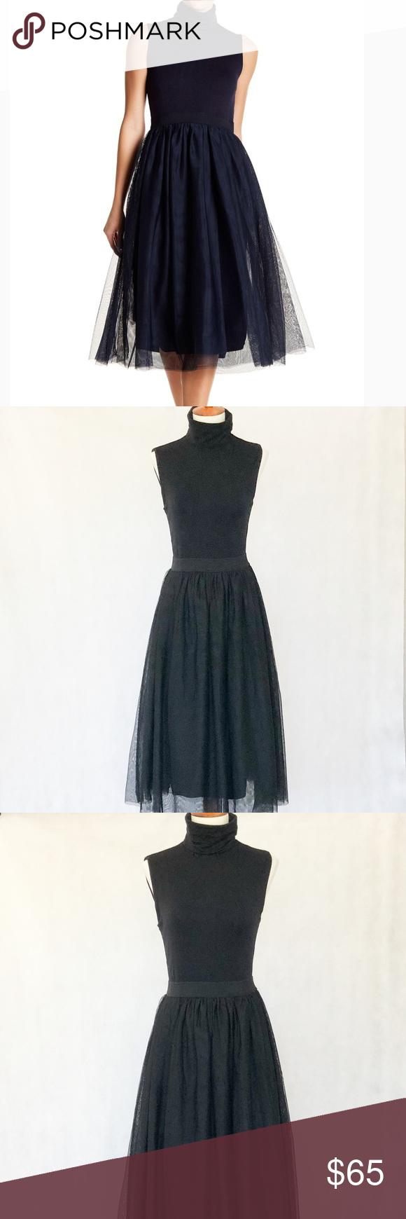 Hope Harlow Turtleneck Tulle Skirt Dress Tulle Skirt Dress Dresses Beautiful Dresses [ 1740 x 580 Pixel ]