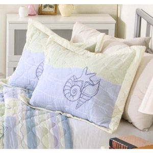 Mainstays Quilt Collection Sea Breeze
