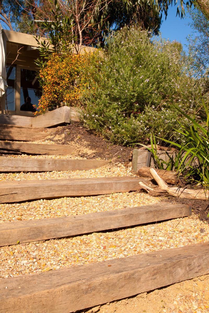 Garden Steps...simple... | Landscaping ideas | Pinterest | Gardens ...