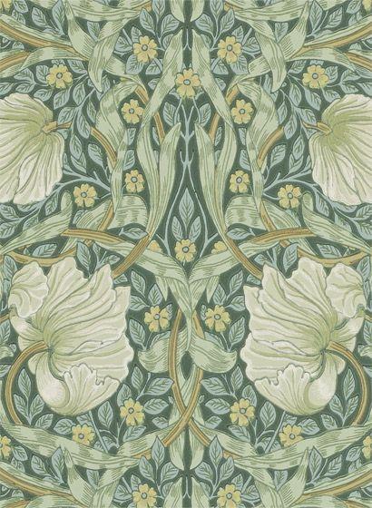 Tapete Pimpernel Von Morris Arts And Crafts Interiors William Morris Tapet William Morris Wallpaper