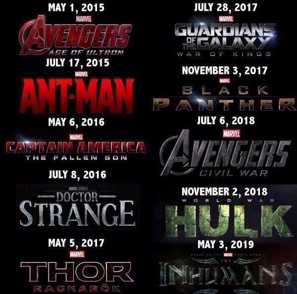marvel film new releases