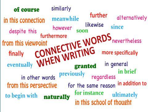 argumentative essay connective words