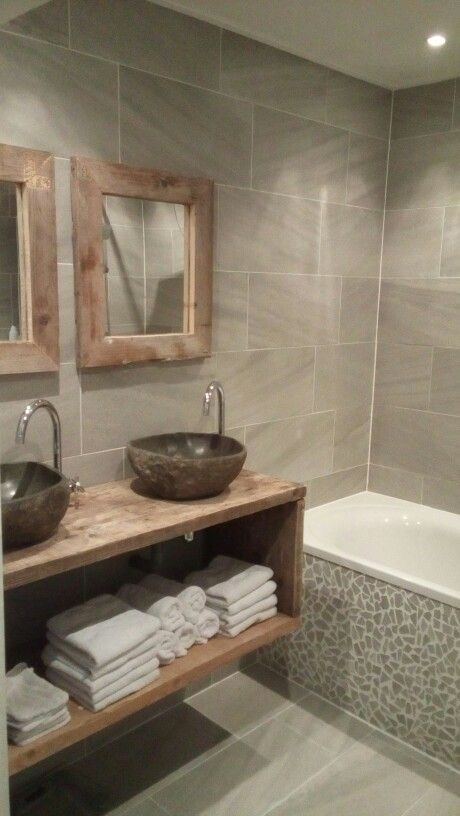 Landelijke badkamer | Houses | Pinterest | Bath, Toilet and House